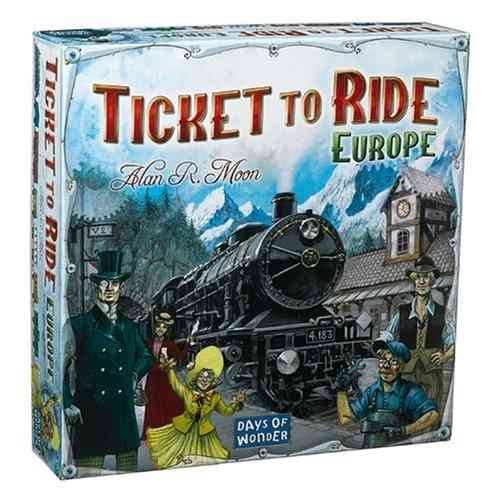 Ticket to Ride Europe (Age 8+)