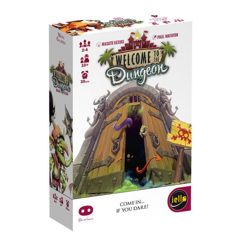 Welcome to the Dungeon - Dungeon Bash Card Game