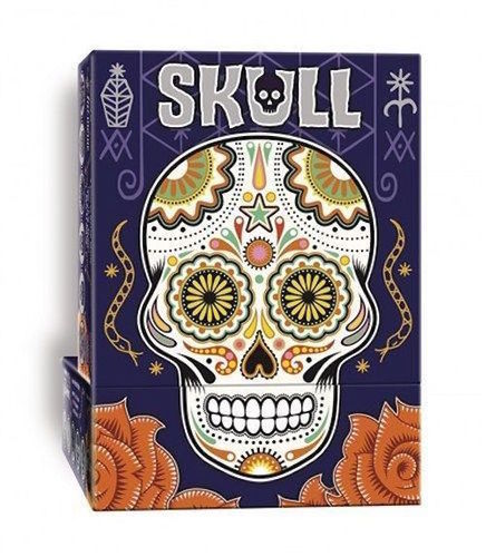 Skull Card Game - 3 to 6 Players - Bluffing and Deception - Age 10+