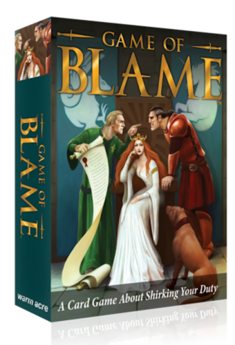 Game of Blame - the fast playing card game for 2 to 4 players