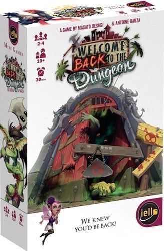 Welcome Back to the Dungeon - Dungeon Bash Card Game