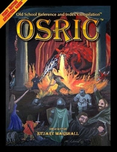 OSRIC 2.2 OSR D&D Retro-clone HARD COVER edition