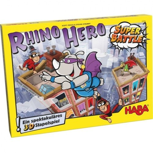 Rhino Hero Super Battle Family Board Game