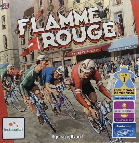 Flamme Rouge Board Game - by Lautapelit