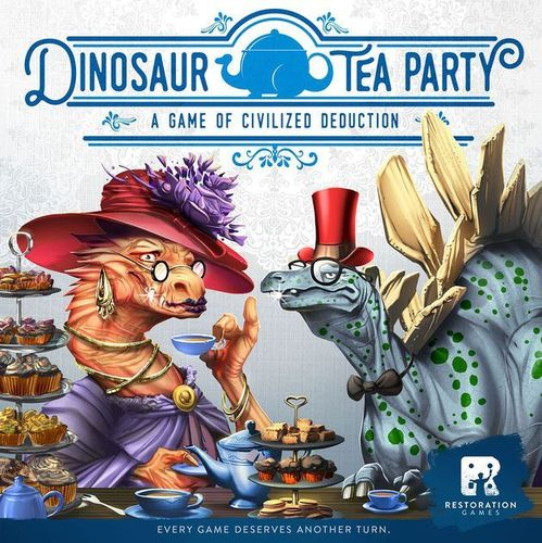 Dinosaur Tea Party