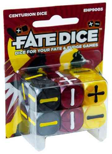 Fate RPG Centurion Dice