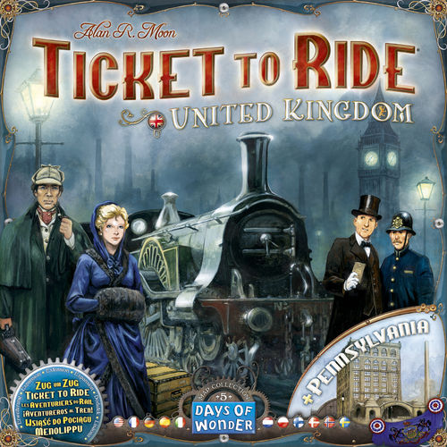 Ticket to Ride UK and Pennsylvania (Age 8+)