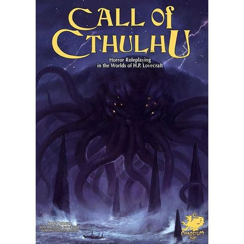 Call of Cthulhu RPG 7th Edition Keeper Rulebook