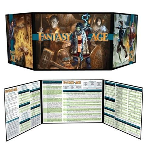 Fantasy AGE Games Masters Kit