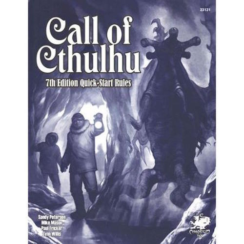 Call of Cthulhu RPG Quickstart Rules