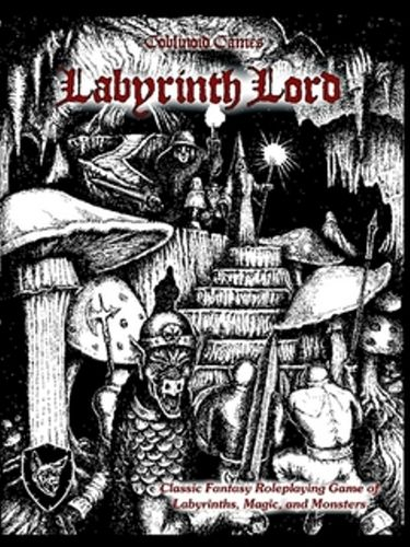 Labyrinth Lord OSR D&D Retro-clone