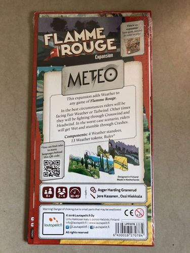 Flamme Rouge Meteo - by Lautapelit