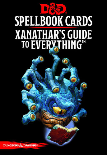 D&D Spellbook cards - Xanathar's Guide to Everything
