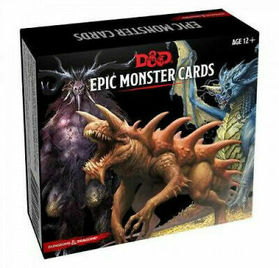 D&D Monster Cards - Epic Monsters