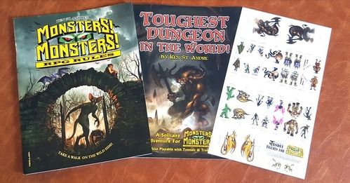 Monsters! Monsters! and Toughest Dungeon